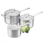 Cookware Set - 3 Piece Saucepan - 16cm/1.8L Saucepan - 18cm/2.5L Saucepan - 20cm/3.5L Saucepan